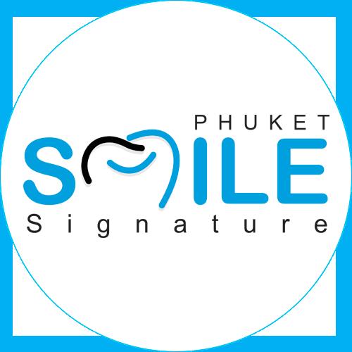 Phuket Smile Signature Logo